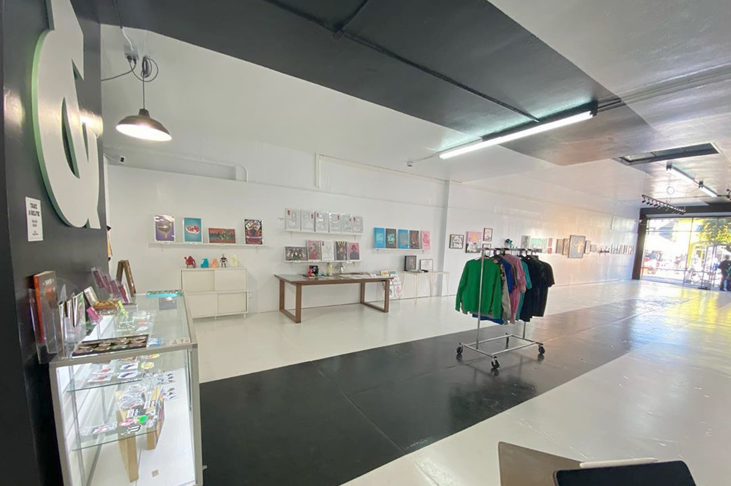 Interior, Eat Sleep Work Design Studio & Gallery, Historic 4th Ave, Tucson, AZ